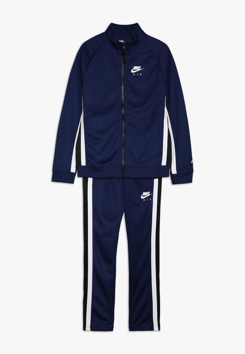 Nike Sportswear - AIR TRACK SUIT - Chándal - blue void/black/white