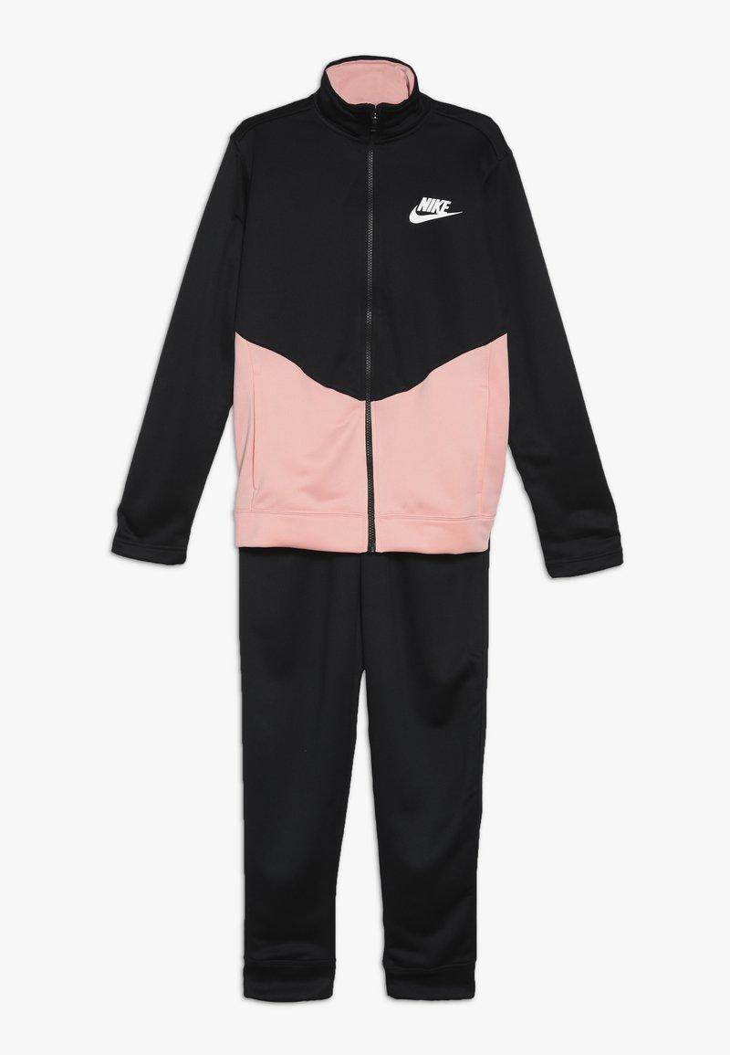 Nike Sportswear - CORE FUTURA SET - Trainingspak - black/bleached coral/white