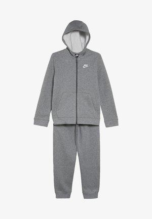 SUIT CORE SET - Trainingspak - carbon heather/dark grey/white