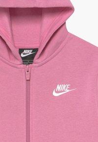 Nike Sportswear - SUIT CORE - Sudadera con cremallera - magic flamingo/white - 4