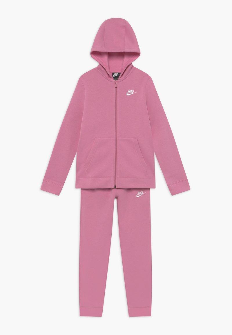 Nike Sportswear - SUIT CORE - Sudadera con cremallera - magic flamingo/white