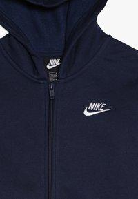 Nike Sportswear - SUIT CORE - Huvtröja med dragkedja - midnight navy - 6