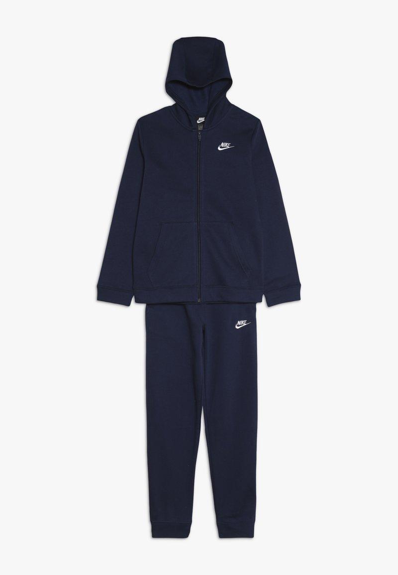 Nike Sportswear - SUIT CORE - Huvtröja med dragkedja - midnight navy