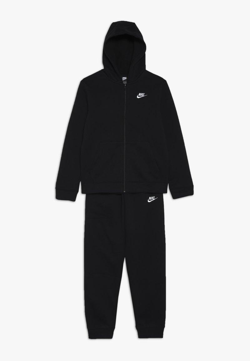 Nike Sportswear - SUIT CORE SET - Collegetakki - black/white