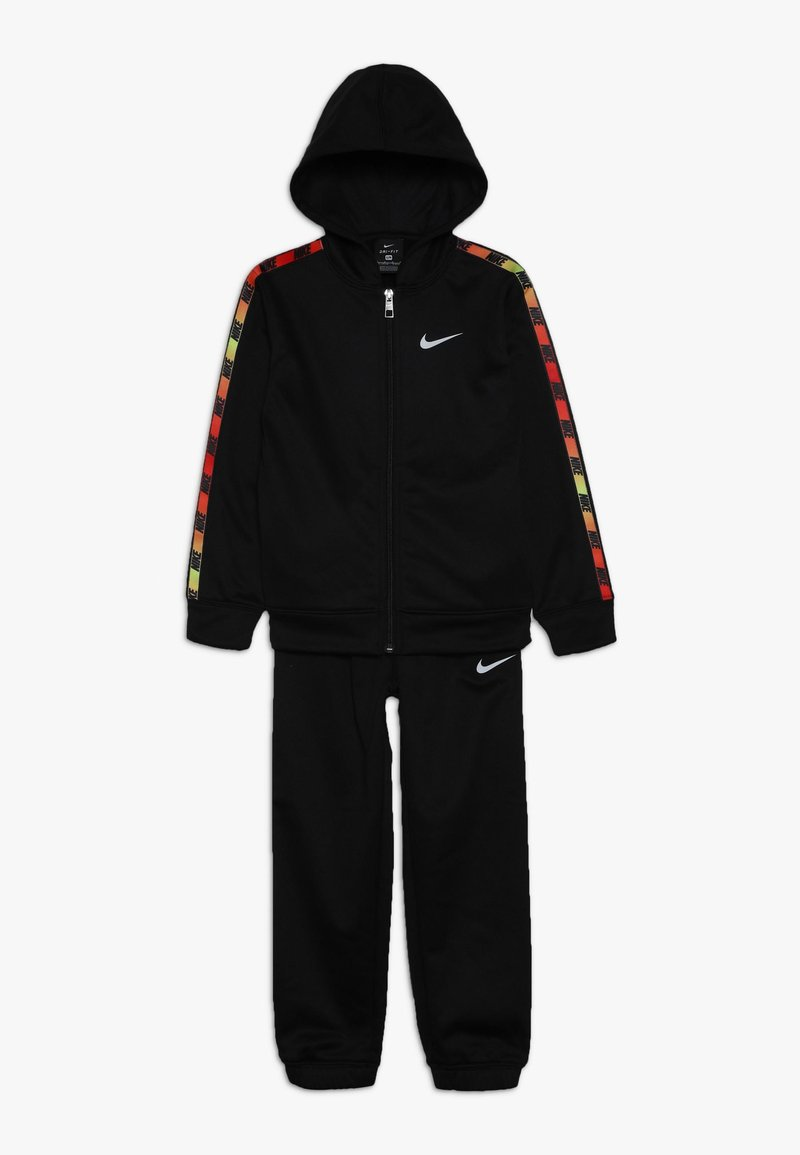 Nike Sportswear - GRADIENT TAPING THERMA SET - Tracksuit - black