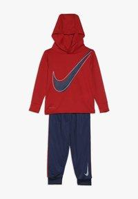 Nike Sportswear - DRI FIT HOODED BABY SET - Survêtement - midnight navy - 0