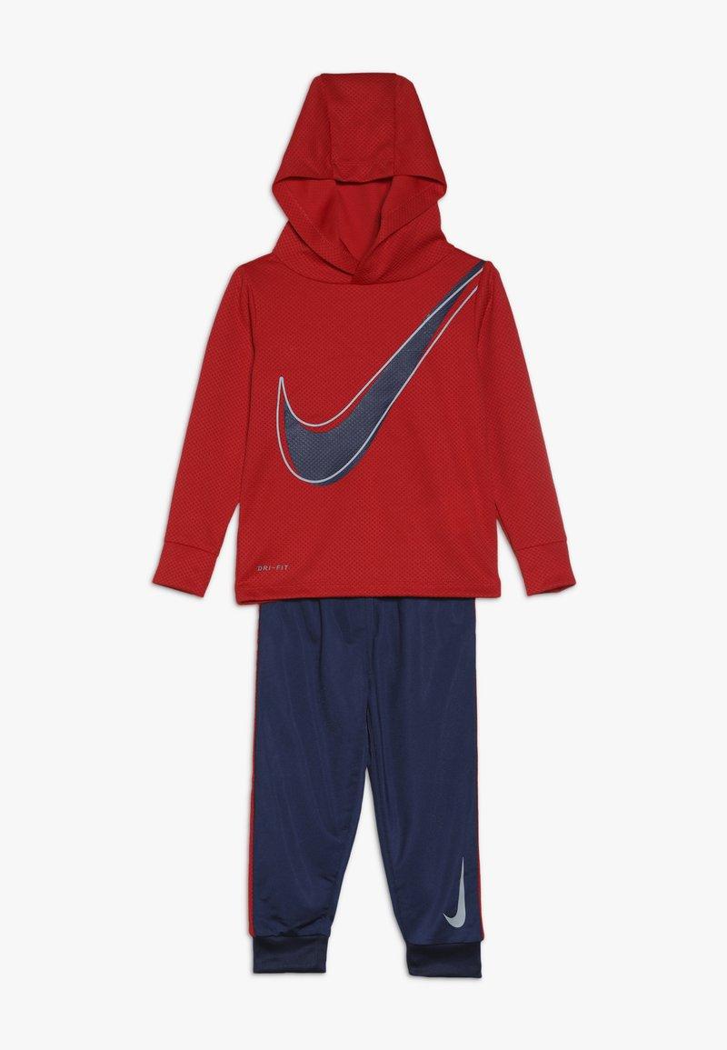 Nike Sportswear - DRI FIT HOODED BABY SET - Survêtement - midnight navy