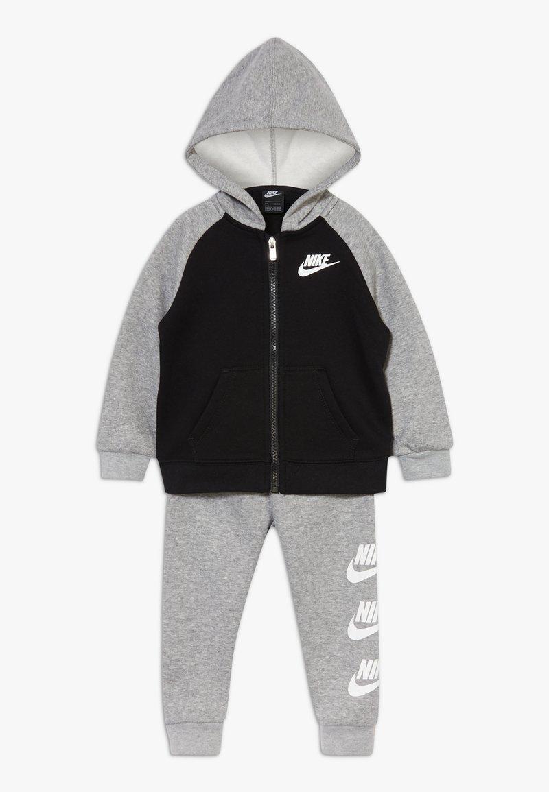 Nike Sportswear - MULTI FUTURA SET - veste en sweat zippée - dark grey heather