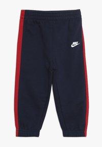 Nike Sportswear - OVERSIZED FUTURA CREW BABY SET - Verryttelypuku - midnight navy - 2