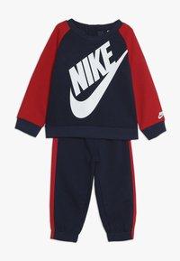 Nike Sportswear - OVERSIZED FUTURA CREW BABY SET - Verryttelypuku - midnight navy - 0