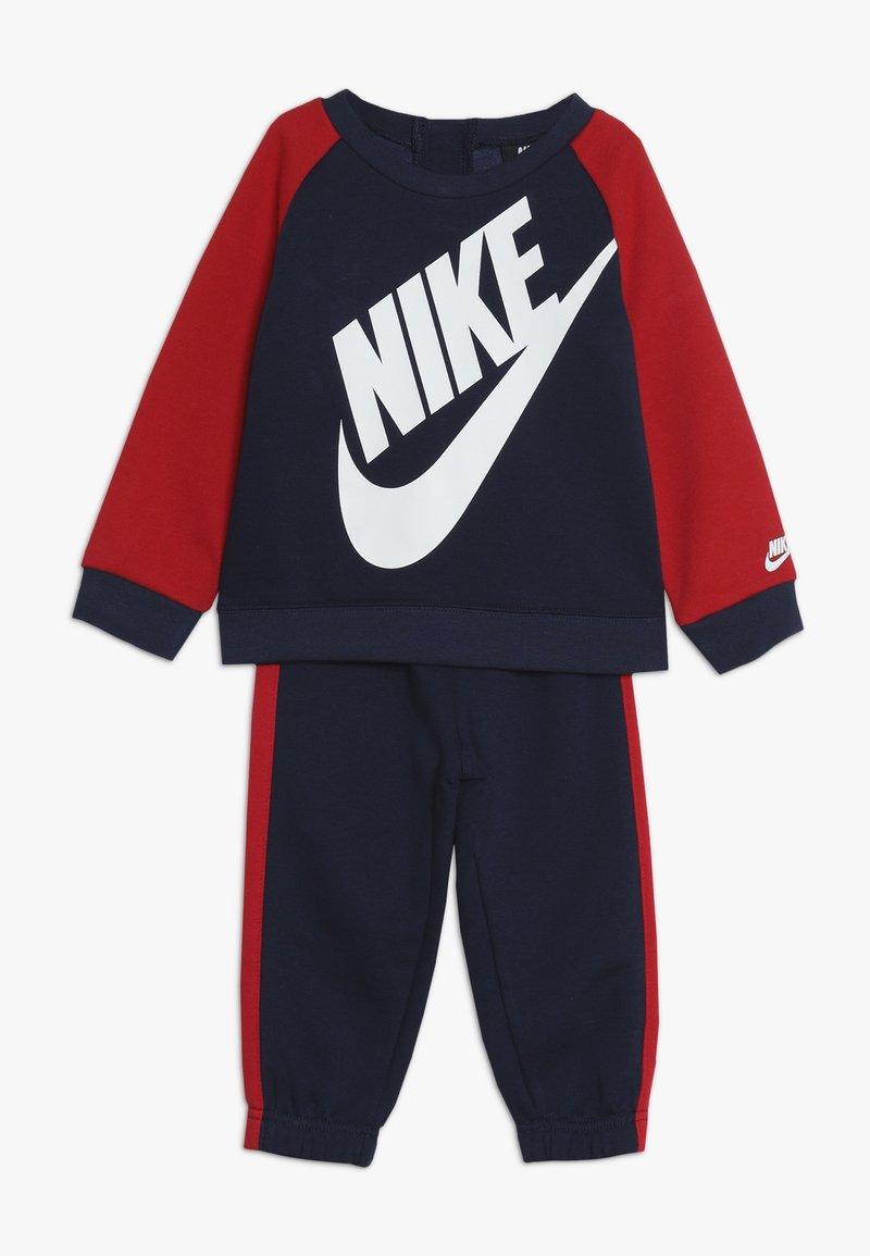 Nike Sportswear - OVERSIZED FUTURA CREW BABY SET - Verryttelypuku - midnight navy