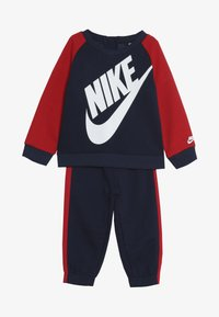 Nike Sportswear - OVERSIZED FUTURA CREW BABY SET - Verryttelypuku - midnight navy - 4