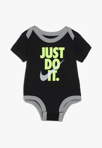 Nike Sportswear - JUST DO IT BODYSUIT PANT BABY SET - Body - dark grey heather - 3