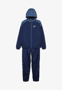 Nike Sportswear - TRACK SUIT WINTERIZED - Survêtement - midnight navy/mystic navy/white - 5