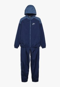 Nike Sportswear - TRACK SUIT WINTERIZED - Survêtement - midnight navy/mystic navy/white - 0