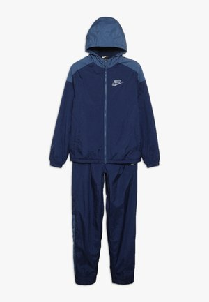 TRACK SUIT WINTERIZED - Survêtement - midnight navy/mystic navy/white
