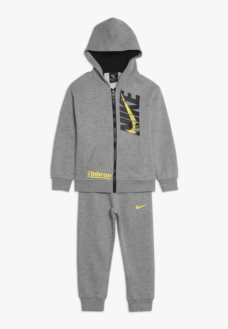 Nike Sportswear - LEBRON PANT SET - Tracksuit - dark grey heather