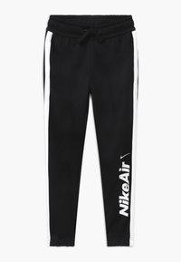 Nike Sportswear - TRACKSUIT SET - veste en sweat zippée - black/white - 2