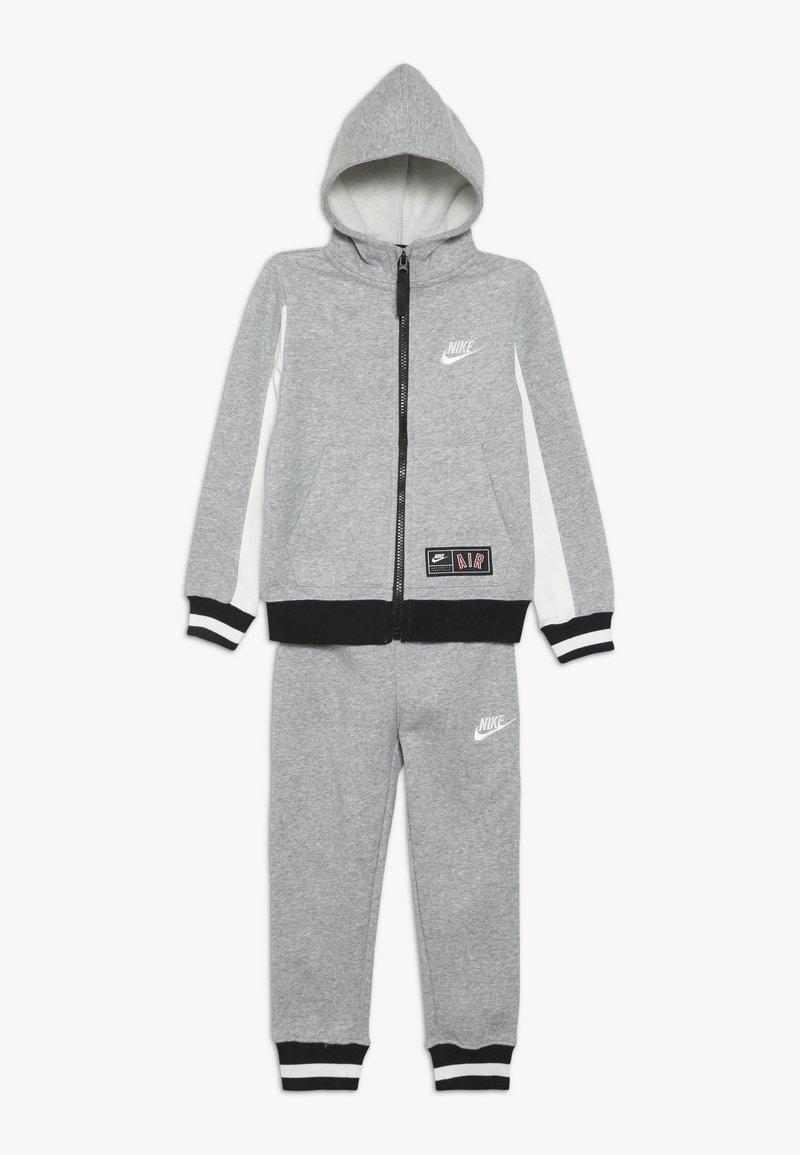 Nike Sportswear - AIR SET - Tracksuit - dark grey heather
