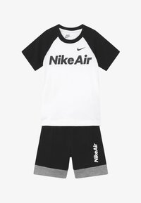 Nike Sportswear - AIR FRENCH SET - Pantalon de survêtement - black