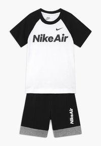 Nike Sportswear - AIR FRENCH SET - Pantalon de survêtement - black - 0