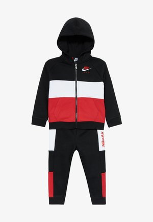 AIR SET - Dres - black/university red