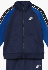 Nike Sportswear - TRICOT TAPING SET - Chándal - midnight navy - 4