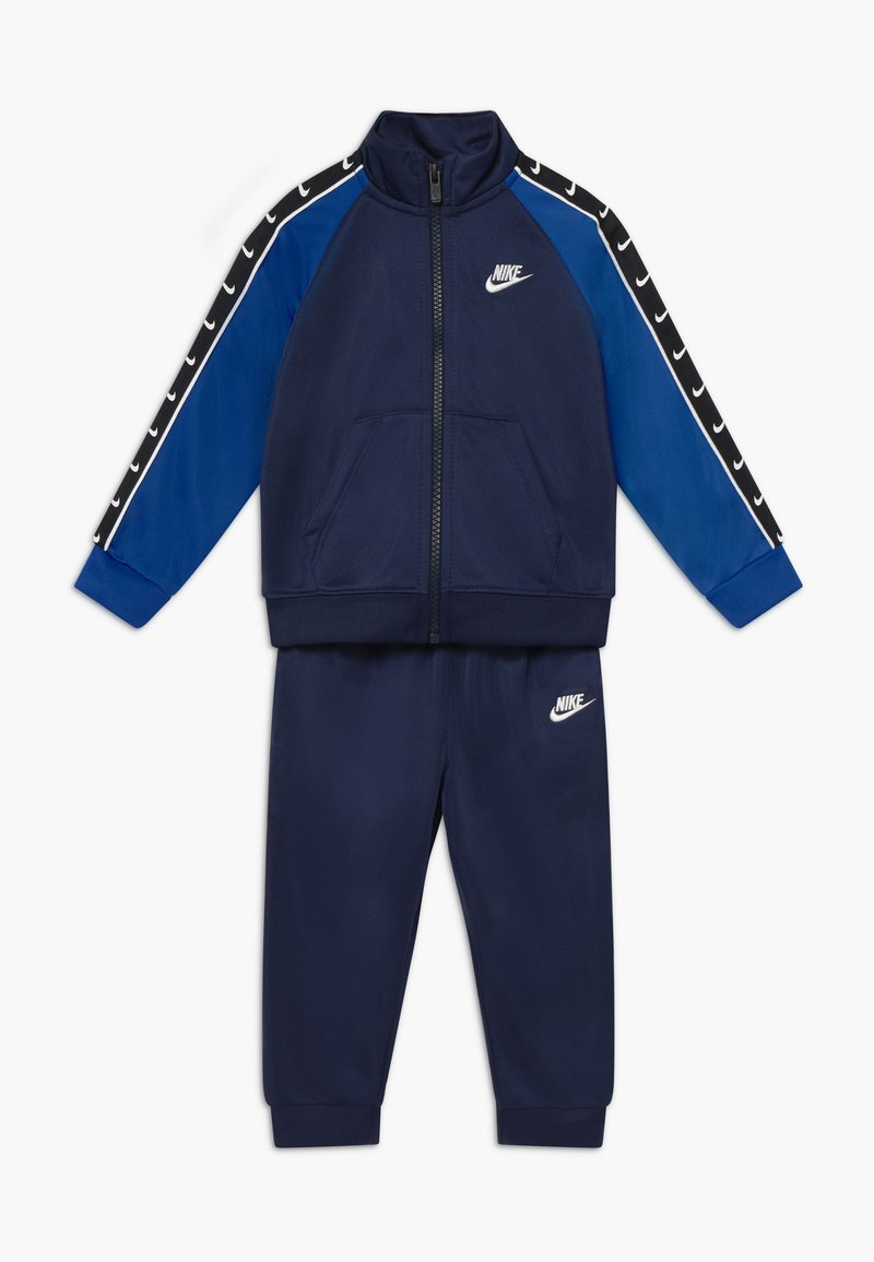 Nike Sportswear - TRICOT TAPING SET - Chándal - midnight navy