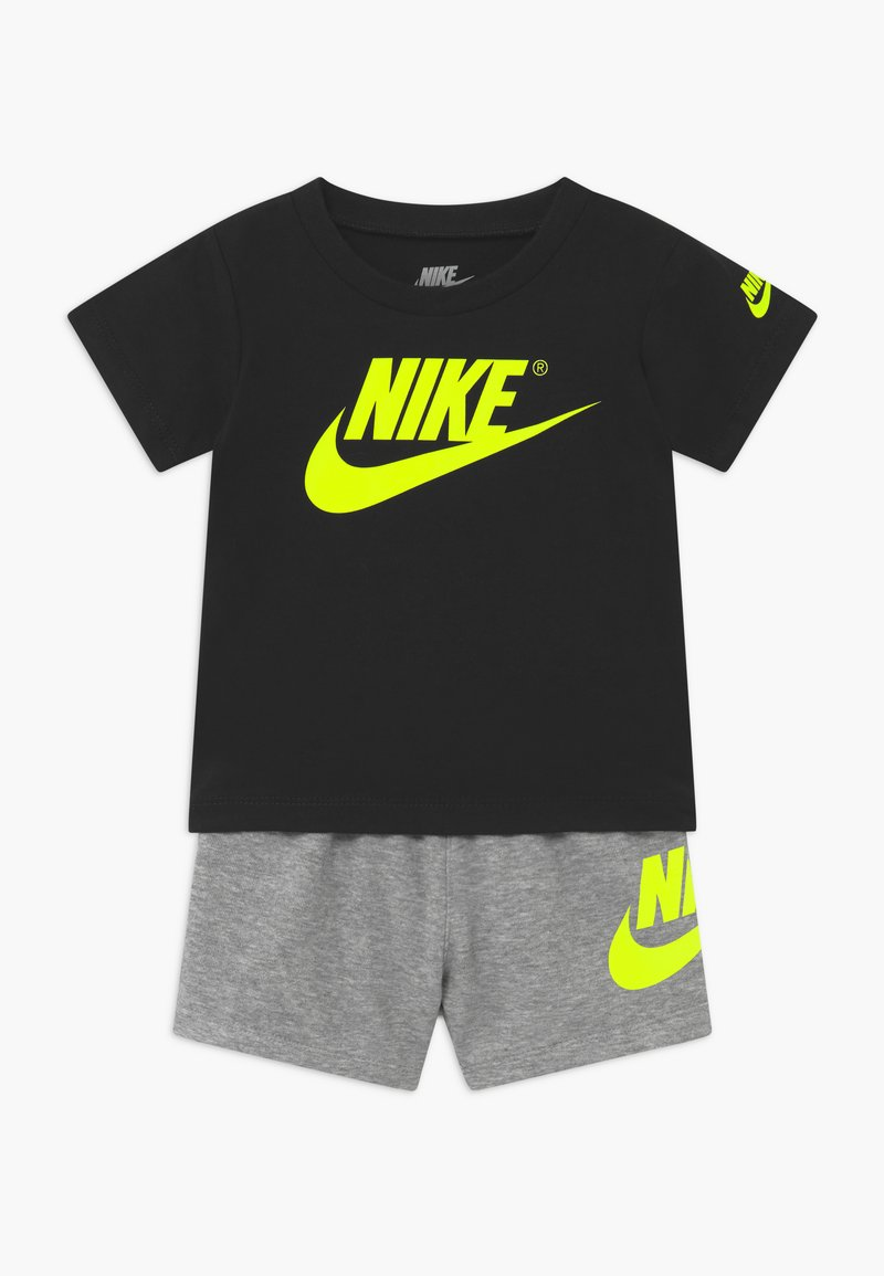 Nike Sportswear - SET - Pantaloni - grey heather/black