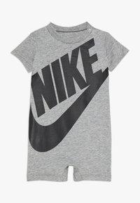 Nike Sportswear - FUTURA ROMPER BABY - Jumpsuit - grey heather/black - 0