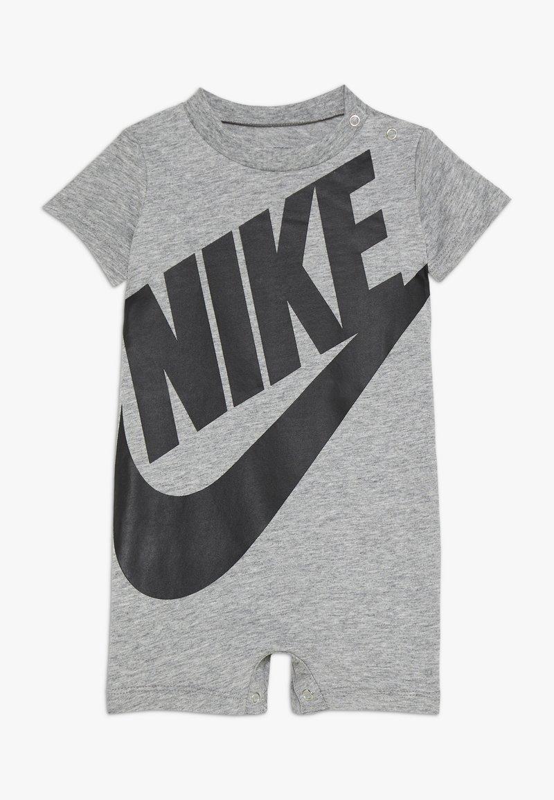 Nike Sportswear - FUTURA ROMPER BABY - Jumpsuit - grey heather/black