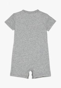 Nike Sportswear - FUTURA ROMPER BABY - Jumpsuit - grey heather/black - 1
