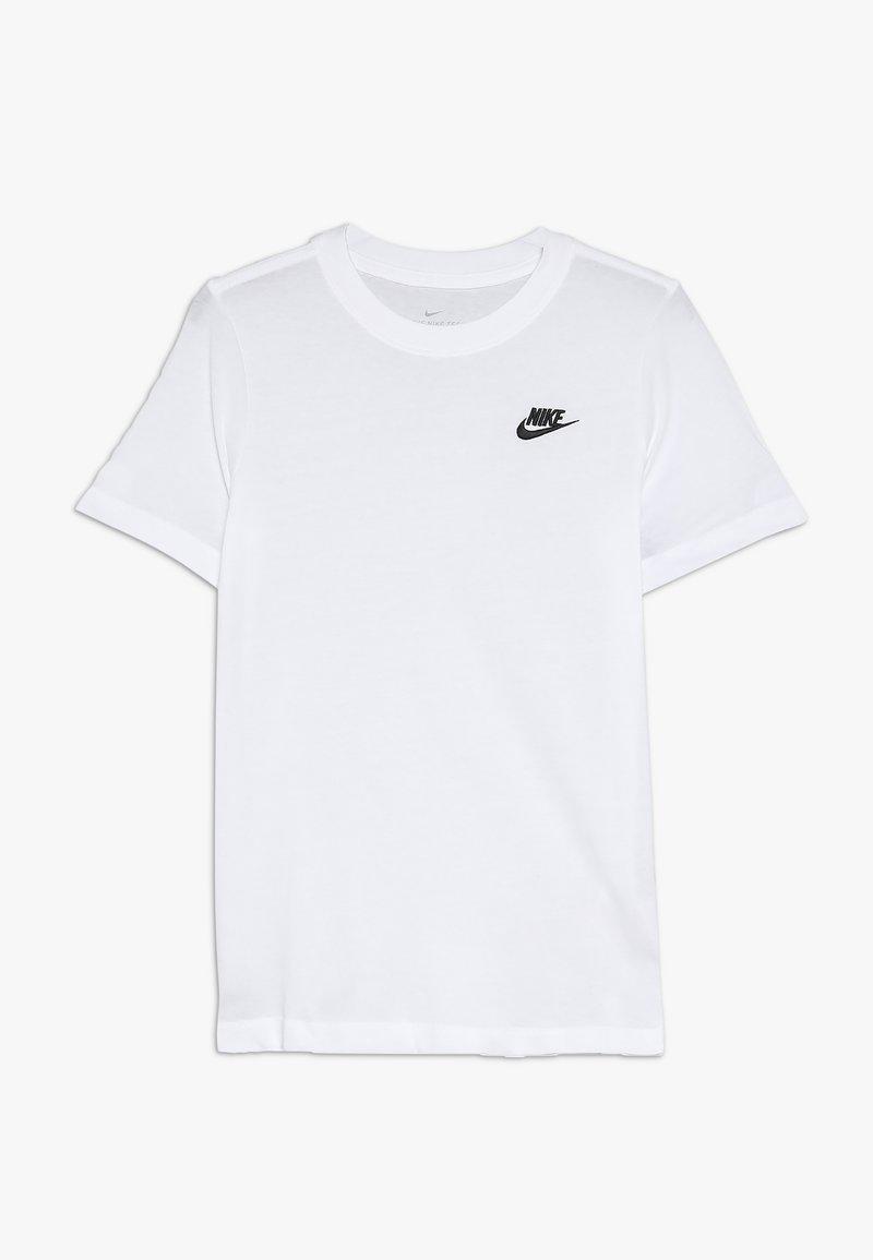 Nike Sportswear - TEE FUTURA - T-shirt basic - white/black