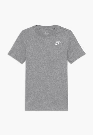 TEE FUTURA - T-shirt - bas - grey heather/white