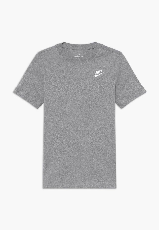 TEE FUTURA - Camiseta básica - grey heather/white