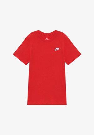 TEE FUTURA - Basic T-shirt - university red