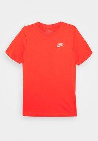 Nike Sportswear - TEE FUTURA - Basic T-shirt - track red/white - 0
