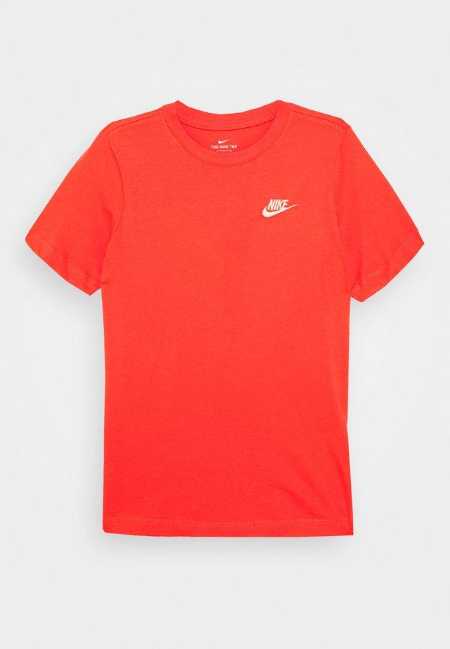 TEE FUTURA - T-shirt basic - track red/white