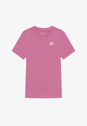TEE FUTURA - T-shirt basic - magic flamingo/white