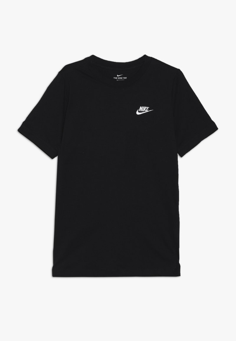 Nike Sportswear - TEE FUTURA - Jednoduché triko - black/white