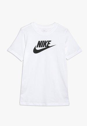 TEE FUTURA ICON  - T-shirt imprimé - white/black