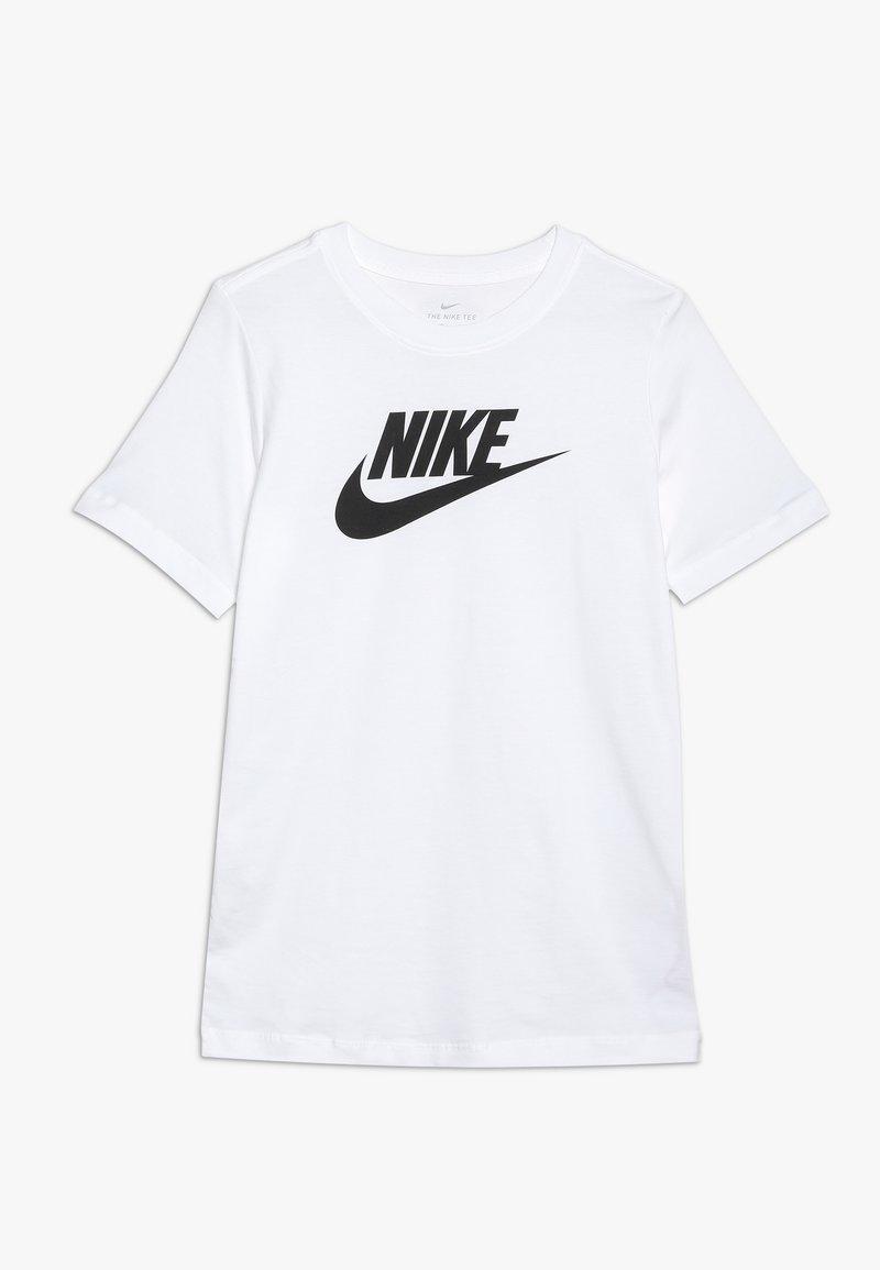 Nike Sportswear - TEE FUTURA ICON - Print T-shirt - white/black