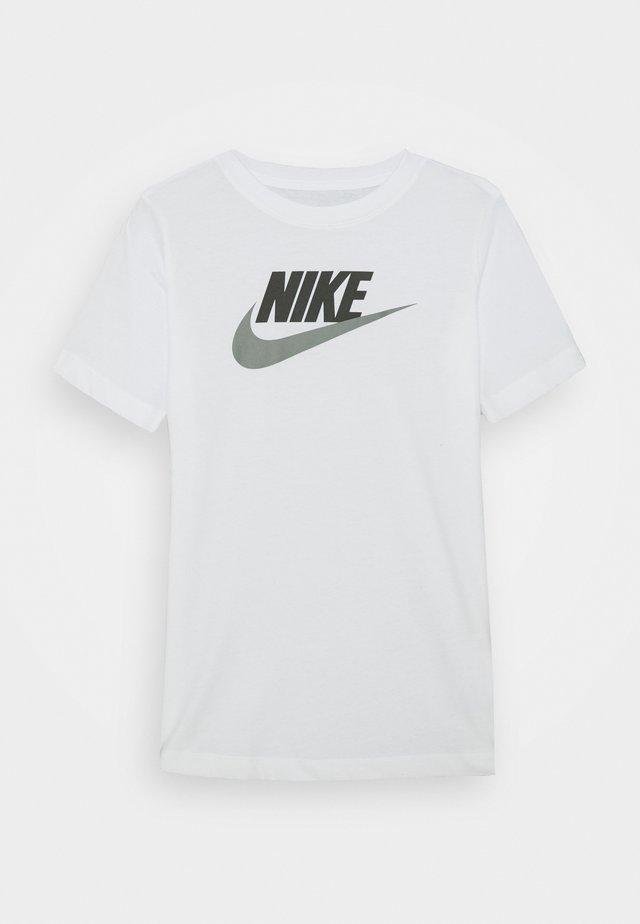 TEE FUTURA ICON - Print T-shirt - white/smoke grey