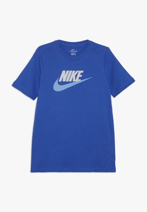 TEE FUTURA ICON  - Triko s potiskem - game royal/pure platinum/university blue