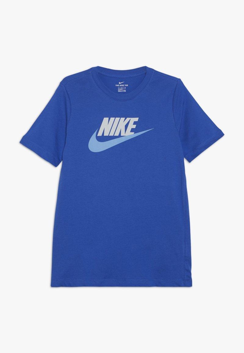 Nike Sportswear - TEE FUTURA ICON  - T-shirts print - game royal/pure platinum/university blue