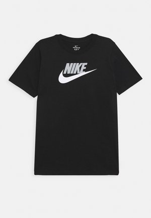 TEE FUTURA ICON  - T-shirt imprimé - black/smoke grey