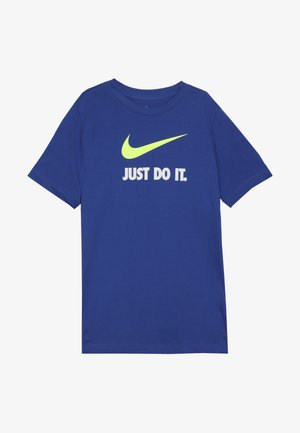 TEE JDI - T-shirt print - game royal/volt