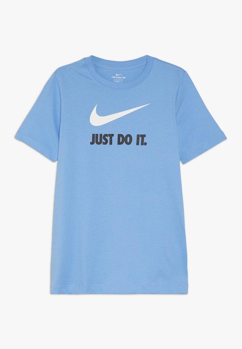 Nike Sportswear - TEE JDI - T-shirt imprimé - university blue/white