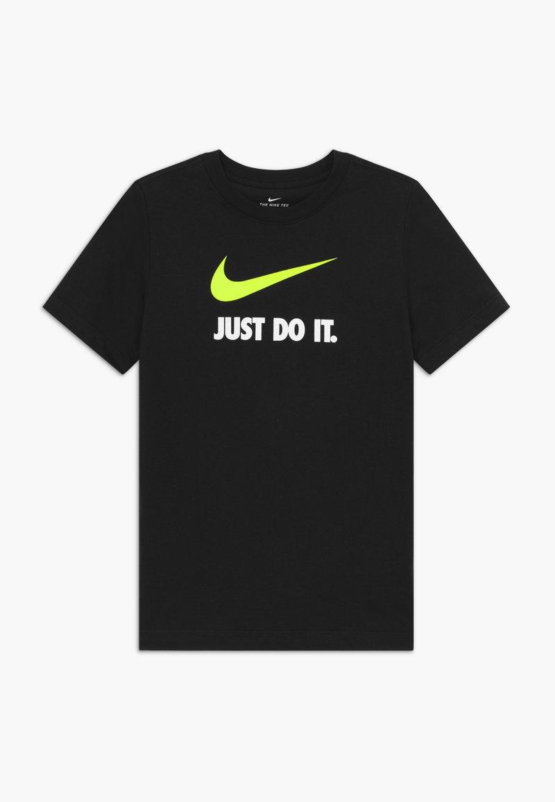 Nike Sportswear - TEE JDI - Printtipaita - black