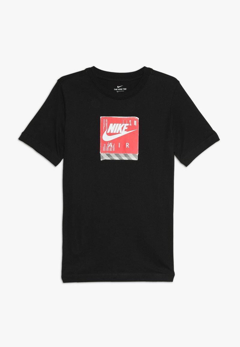Nike Sportswear - TEE AIR SHOE BOX - T-shirt z nadrukiem - black